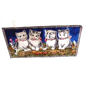 Other - Cute cat tapestry wall hanging italy kitten kitty